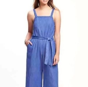 Old Navy Chambray Jumpsuit